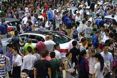 17th Chengdu Motorowy przedstawienie Fotografia Stock
