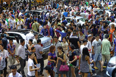 17th Chengdu Motorowy przedstawienie Fotografia Royalty Free