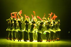 The 10th China art festival dance competition - the girls dance competition, Korean Royalty Free Stock Image