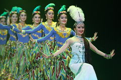 The 10th China art festival dance competition Royalty Free Stock Photos