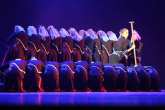 The 10th China art festival dance competition. Held in shandong province on July 1, 2013 Royalty Free Stock Photography