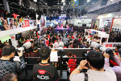 2014 the 17th China Beijing international photographic imaging equipment and technology expo machinery Royalty Free Stock Images