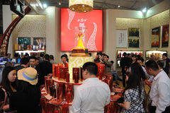 The 88th China Food and Drinks Fair Royalty Free Stock Image