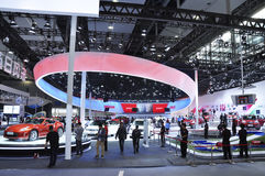The 11th China GuangZhou international automobile exhibition. The 11th China  international automobile exhibition Stock Images