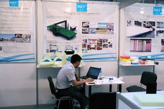 5th `China Homelife Show`, Warsaw, Poland stock photo