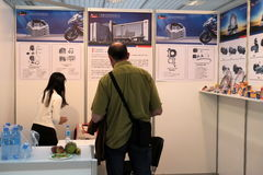 5th `China Homelife Show`, Warsaw, Poland Royalty Free Stock Photography