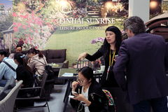 5th `China Homelife Show`, Warsaw, Poland royalty free stock photo