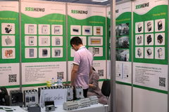 5th `China Homelife Show`, Warsaw, Poland Stock Photos
