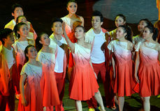 The 4th China university art show Stock Photos