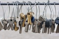 Blank keys Royalty Free Stock Photo