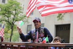 70th Columbus Day Parade anual em NYC Foto de Stock