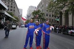 70th Columbus Day Parade anual em NYC Fotos de Stock