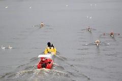 100th course d'aviron de Primatorky à Prague Photos stock