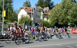 The 99th cycle race Stock Images
