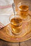 Thé d'Apple de turc Photographie stock