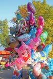 50th dagar av 'Kaj' kultur, Krapina 2015 Kroatien Europa, baloons, 3 Royaltyfria Bilder