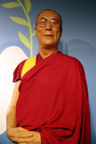 14th Dalai Lama av den Tibet vaxstatyn Royaltyfri Fotografi