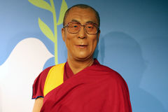 14th Dalai Lama of Tibet wax statue Royalty Free Stock Photography