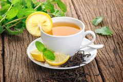 Thé de citron Image stock