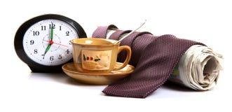 Thé de matin Photographie stock