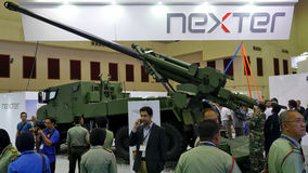 15th Defence Services Asia Exhibition 2016 Royalty Free Stock Image