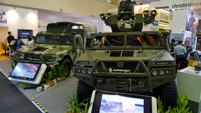 15th Defence Services Asia Exhibition 2016 Royalty Free Stock Photography
