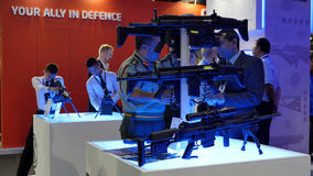 15th Defence Services Asia Exhibition 2016 Stock Image
