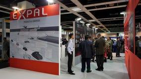 15th Defence Usługuje Azja wystawę 2016 Obrazy Royalty Free