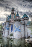 60th Disneyland Castle Royalty Free Stock Photos