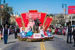 115th Dragon Parade dorato annuale Fotografie Stock