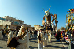 140th edição do carnaval de Viareggio Fotografia de Stock