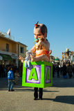 140th edition of the Carnival of Viareggio. Royalty Free Stock Images