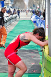 12th edition of Turin's City trophy of triathlon Royalty Free Stock Photo