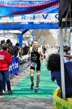 12th edition of Turin's City trophy of triathlon stock photos