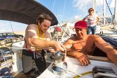 12th Ellada för seglingregatta höst 2014 Arkivbild