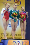 5th European Championships in Artistic Gymnastics Stock Photo