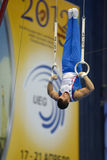 5th European Championships in Artistic Gymnastics Royalty Free Stock Photos