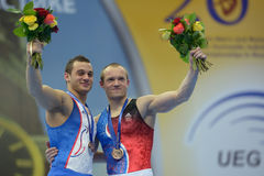 5th European Championships in Artistic Gymnastics Stock Images