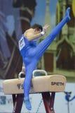 5th Europeiska mästerskap i konstnärlig gymnastik Royaltyfria Foton