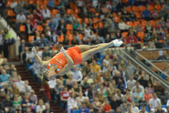 5th Europeiska mästerskap i konstnärlig gymnastik Royaltyfri Foto