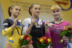 5th Europeiska mästerskap i konstnärlig gymnastik Royaltyfri Fotografi
