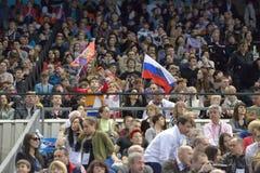 5th Europeiska mästerskap i konstnärlig gymnastik Royaltyfri Bild
