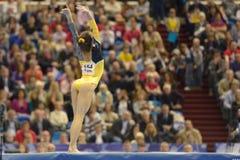 5th Europejscy mistrzostwa w Artystycznych gimnastykach zdjęcie stock