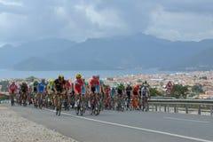 50th excursão presidencial do ciclismo de Turquia Foto de Stock Royalty Free