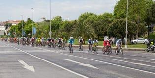50th excursão presidencial do ciclismo de Turquia Fotografia de Stock
