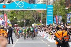 50th excursão presidencial do ciclismo de Turquia Imagens de Stock Royalty Free
