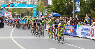 50th excursão presidencial do ciclismo de Turquia Imagem de Stock Royalty Free