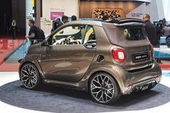 88th exposição automóvel internacional 2018 de Genebra - Brabus 125 finais Fotografia de Stock