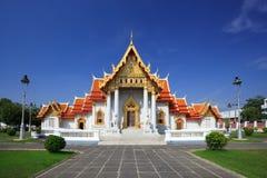 th för bangkok marmortempel Royaltyfri Bild