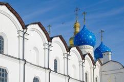 19th för domkyrkaårhundrade för annunciation 17 kharkov för stad landmark ukraine Royaltyfri Foto